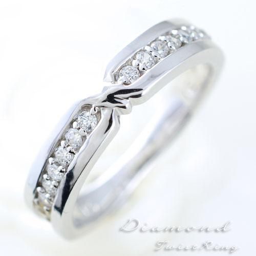 婚約指輪 結婚指輪 エンゲージリング ダイヤモンド リング 指輪 k10 ダイヤモンドリング エタニティ ピンキーリング 10k クラシカル ホワイトゴールド ダイヤ レディース
