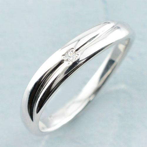 婚約指輪 エンゲージリング ダイヤモンドリング k18 ゴールド レディース リング ホワイトゴールド シンプル 一粒 結婚指輪 ライン カーブ ハンドメイド 18k 18金 1粒