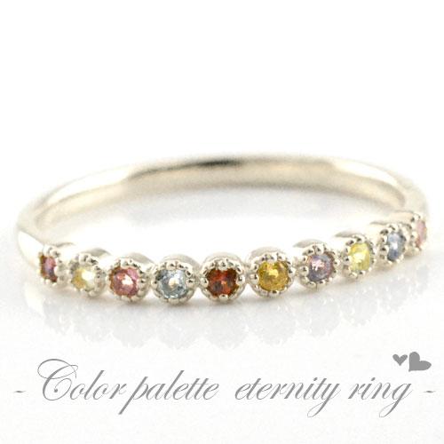 アミュレット ピンキーリング 指輪 レディース プラチナ 天然石 誕生石 pt900 クラシカル ミルウチ