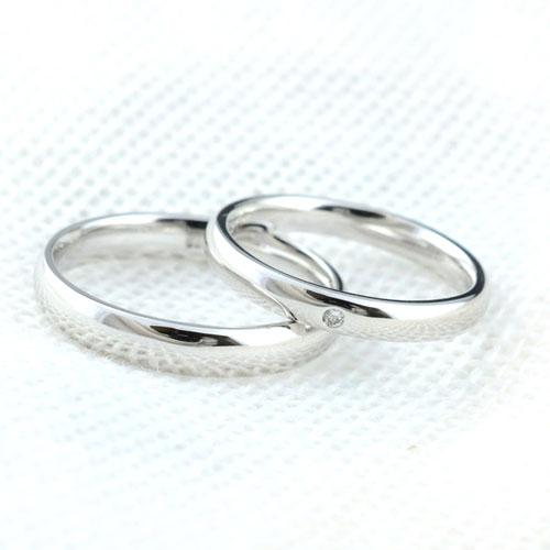 マリッジリング ダイヤモンド ホワイトゴールドK18 記念日 ペアリング 指輪 ダイヤ 婚約指輪 エンゲージリング 結婚指輪