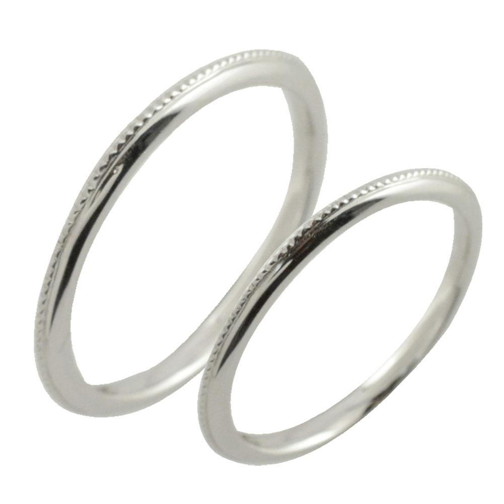 【送料無料】ペアリング 指輪 リング シルバー シンプル デザインリング ミルウチ sv925ストレート ミル打ち 地金リング 結婚指輪 エンゲージリング レデース メンズ ハンドメイド クリスマス Xmas