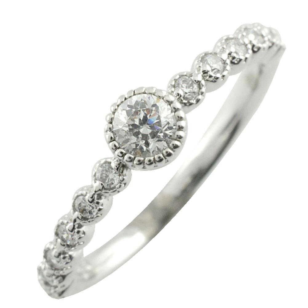 【送料無料】リング ダイヤモンドリング 指輪 プラチナ ダイヤモンド ミル打ち pt900 ミルウチレディース ダイヤ ホワイトデー