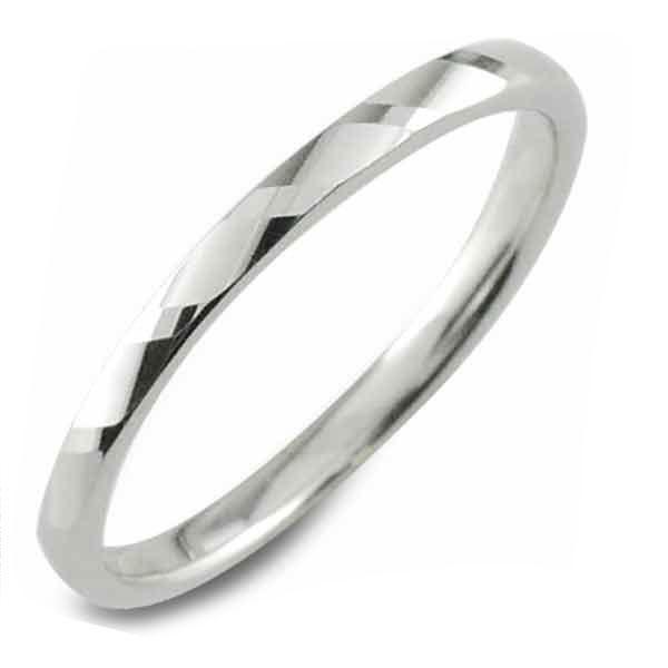 【送料無料】メンズ カットリング 地金リング 甲丸 プラチナ プラチナ900 リング シンプル 結婚指輪 ハンドメイド pt900