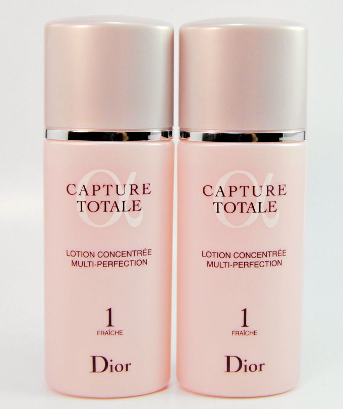 Christian Dior capture total lotion 1 50 ml 2 piece set simple mini size