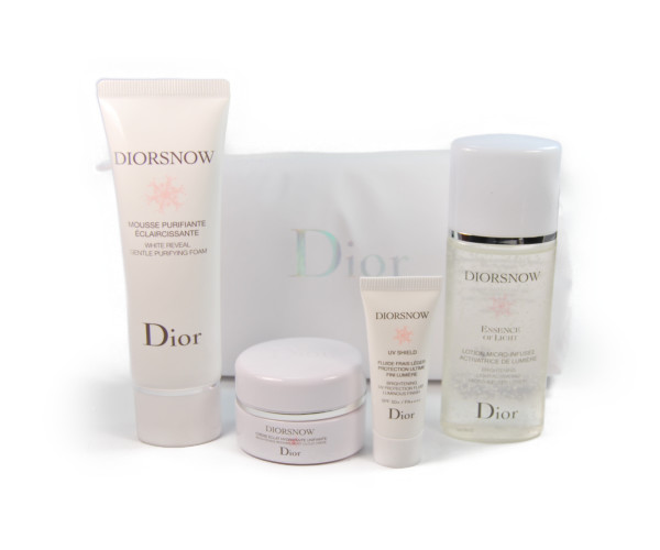 6faa2819 Four set samples mini-size with the Christian Dior Dior Snow set porch