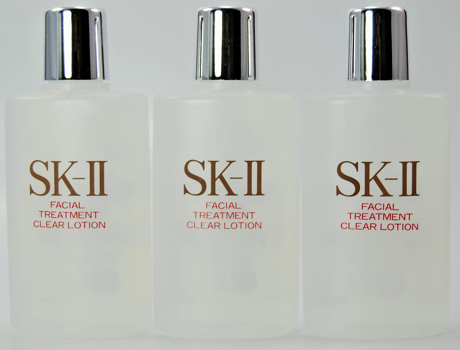 Max SK2 facial treatment clear lotion 40 ml 3 PCs set sample mini size