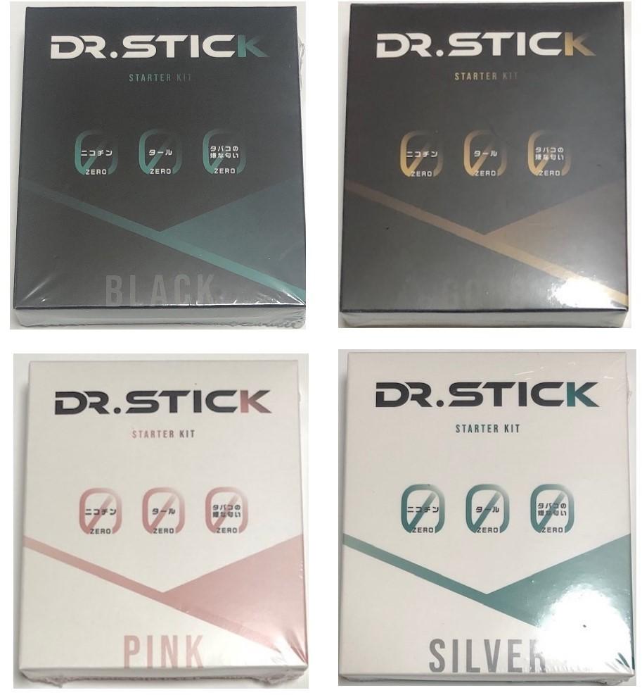 電子タバコ ドクタースティックのスターターキット ドクタースティック スターターキット 全4種 Dr.stick 2020春夏新作 ベイプ 純正品 正規品 VAPE 未開封 新品 期間限定お試し価格