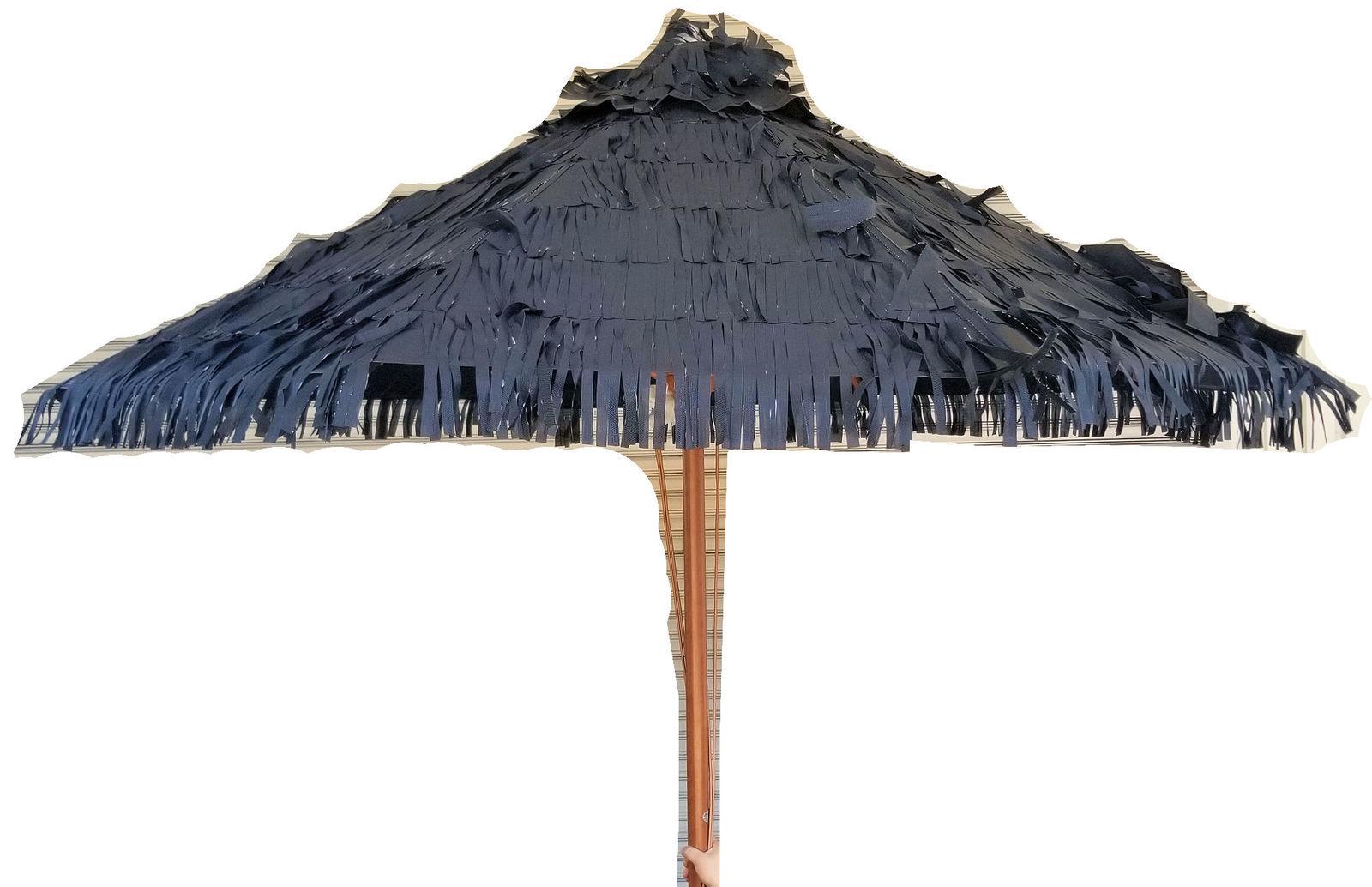 格安SALEスタート 海外のリゾート地でよく見かける藁風パラソルプールサイドに ビーチサイドに カフェテラスにも 柄の部分は直径5cmと強度も耐久性も抜群 専用の土台も別途販売 FT-09 ガーデンパラソル メイルオーダー 傘 家具 藁傘 ビーチパラソル おしゃれ ガーデンファニチャー