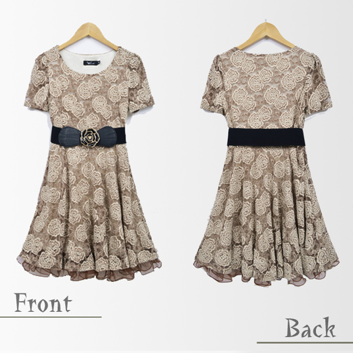 Great party dress minidress wedding parties total resuwanpi favorite short sleeve one-piece rose patterned lace large size aerobic belted rose wedding dress party dress sizes with mini parties formal receptions called concert reunion presentation ceremon