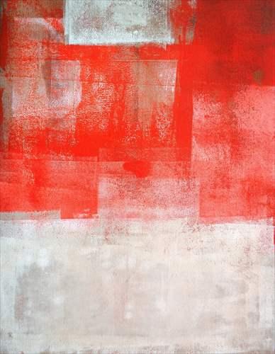 【取寄品】【送料無料】Orange and Beige Abstract Art Painting インテリアパネル パネルフレーム IAP51597 キャンバス モダンアート 600×800mm お洒落インテリア通販2/21朝10時まで