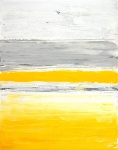 【取寄品】【送料無料】Grey and Yellow Abstract Art Painting インテリアパネル パネルフレーム IAP51598 キャンバス モダンアート 600×800mm お洒落インテリア通販