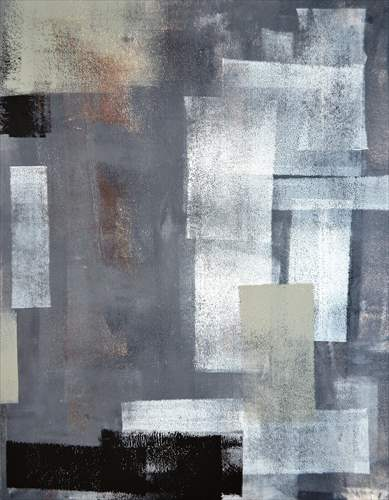 【取寄品】【送料無料】Grey and Green Abstract Art Painting インテリアパネル パネルフレーム IAP51599 キャンバス モダンアート 600×800mm お洒落インテリア通販
