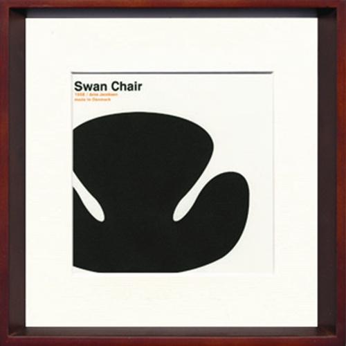 【取寄品】【送料無料】Toshiaki Yasukawa Swan Chair ITY-14046 インテリアアートポスター通販【全品ポイント10倍】【ママ割 登録 エントリー 5倍】12/26まで