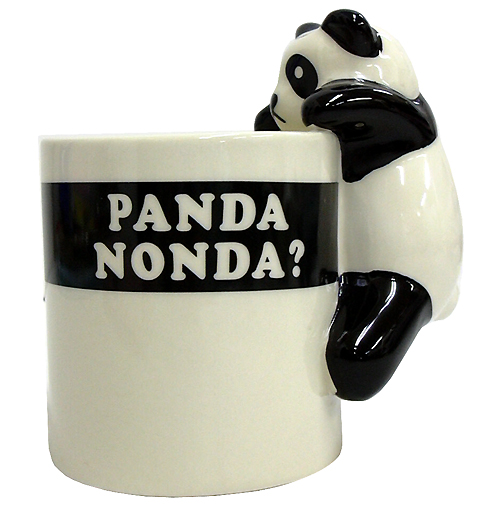 PANDA屋 期間限定今なら送料無料 日本製 パンダマグカップ 陶器製