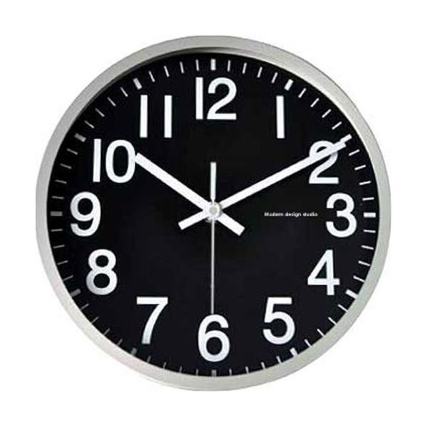 【取寄品】【送料無料】Basic Design Clock ベーシックデザインクロック ブラック インテリア壁掛け時計通販【全品ポイント10倍】【ママ割 登録 エントリー 5倍】12/26まで