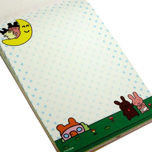 Cute anime snack volume memo pad to Meiji Apollo chocolate A6 stationery store cinema collection all points 10 times 10 / one morning until 10 a.m.