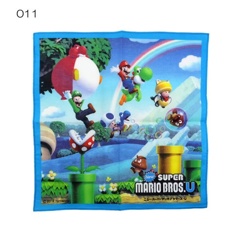 Super Mario Brothers U handkerchief game character goods mail order
