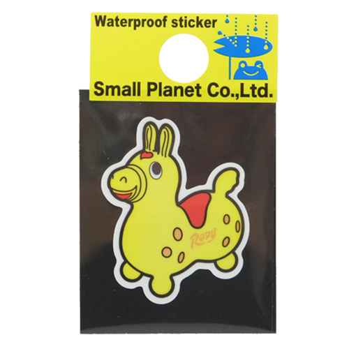 Lodi Rody yellow mini stickers waterproof! Good anime seal store