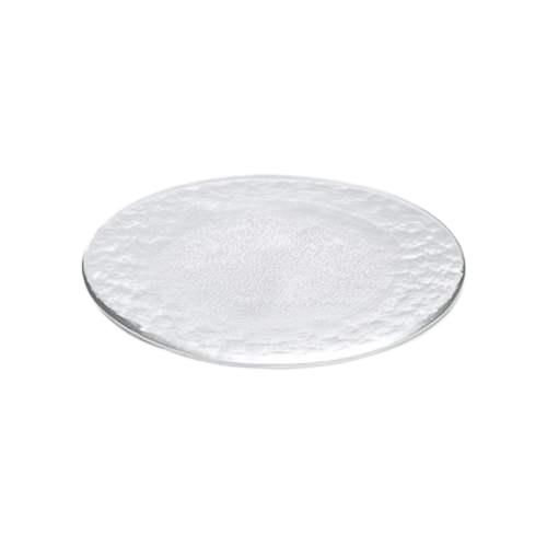 【取寄品】【送料無料】Flat Plate プレート ガラス皿250 3枚セット クリア アデリア 直径25cm 丸皿 日本製石塚硝子通販 シネマコレクション