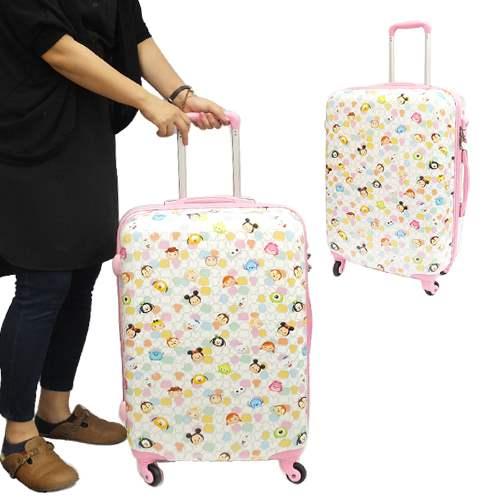 DISNEY TSUM TSUM ツムツム スーツケース 22インチキャリーバッグ アートウエルド 大容量 53L 海外旅行カバン キャラクターグッズ シネマコレクション【送料無料】