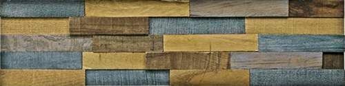 【取寄品】【送料無料】PLADEC プラデック ミッドセンチュリー ウッドクラフトアート ペイントウッド ロング ユーパワー 80×20cm ポルトガル製 モダンインテリア通販 シネマコレクション2/21朝10時まで