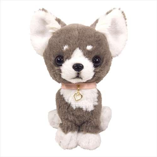 Cinemacollection Pups Stuffed Plush S Chihuahua Gray Dog Mahogany