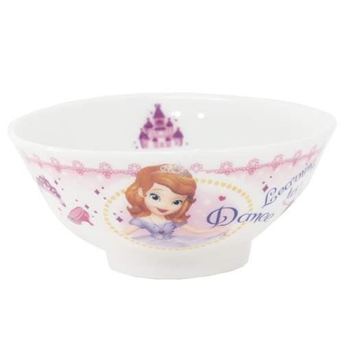 ちいさなプリンセス ソフィア キッズ食器 こども茶碗 ディズニー 金正陶器 直径10.5x4.5cm 日本製 シネマコレクション グッズ 新発売 通販 キャラクターグッズ通販 格安激安 キャラクター