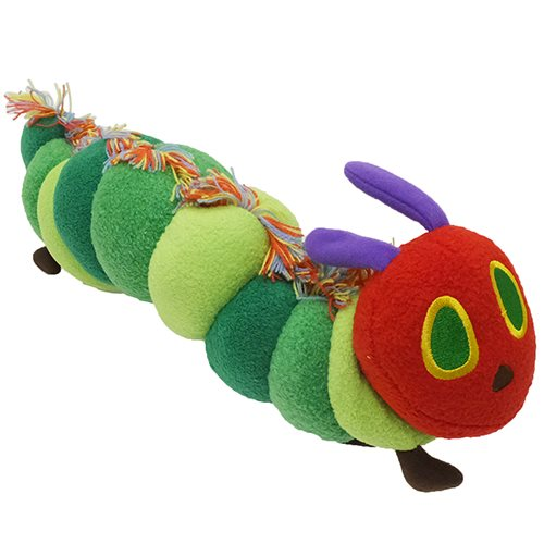 Cinemacollection Very Hungry Caterpillar Plush Colorful Green L