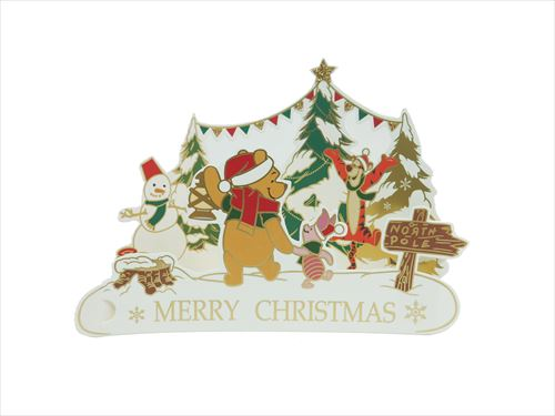 Winnie The Pooh Christmas.To Fancy Goods Mail Order Cinema Collection 10 11 With The Winnie The Pooh Christmas Card Standing Solid Card Disney Apj Xmas Envelope