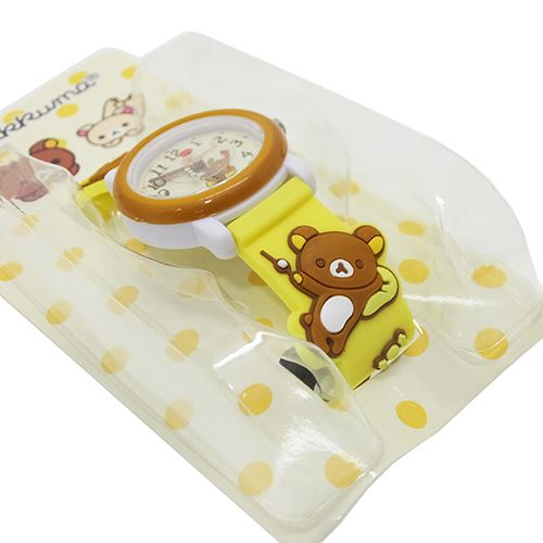 Cute rilakkuma Watch 3D belt watch standard San-x San frame gift gadgets anime manga cinema collection