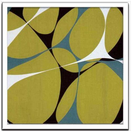 Hartnett インテリア アート デザイナーズアート Flower Power 13 美工社 53×53cm 壁掛け 額付き抽象画通販 【取寄品】 【送料無料】シネマコレクション