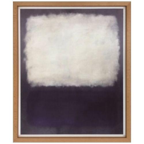 Mark Rothko インテリア アート スカンジナビア ART Blue and grey 1962 美工社 54×64.5cm 壁掛け 額付き グッズ 通販 【取寄品】 【送料無料】シネマコレクション