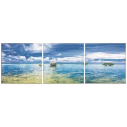 NEW DESIGN Concept Frame インテリア アート アートパネル 3枚セット 海 SEA 2 美工社 ウォールアート 壁掛け 額付きおしゃれ通販 【取寄品】 【送料無料】シネマコレクション