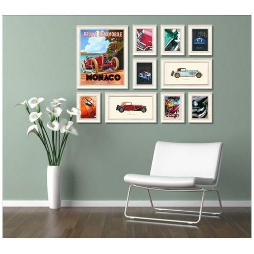 NEW DESIGN Concept Frame インテリア アート 額付き ART 10枚 コンセプトセット クラシックカー 美工社 ウォールアート 壁掛け 額付きおしゃれ通販 取寄品 シネマコレクション