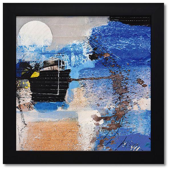 アーサー ピマ 抽象画 アートフレーム ムーンライト 額付きポスター インテリア グッズ 通販 取寄品 シネマコレクション