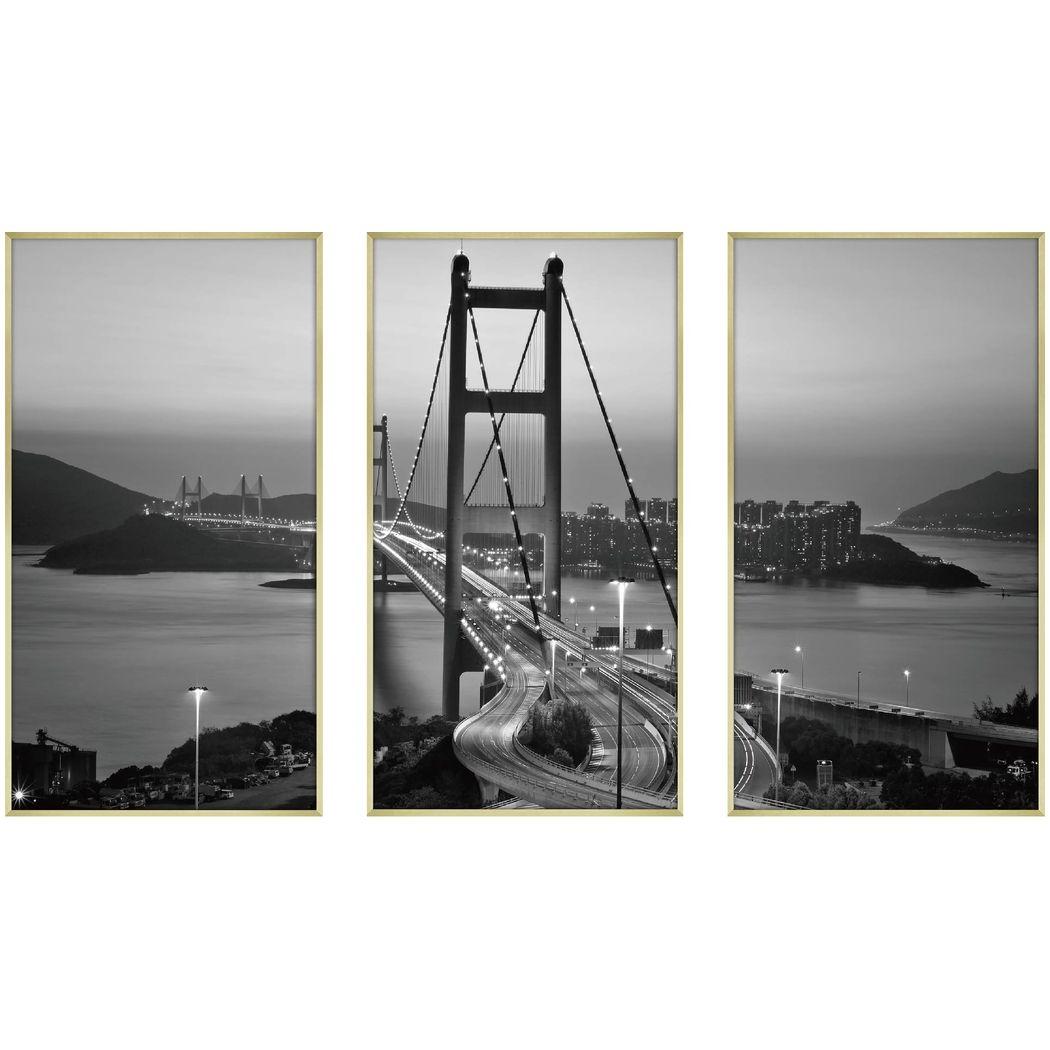 デザイナーズアート 写真 アート CLASSIC B&W PHOTOGRAPHY 3枚セット 美工社 50×90×4cm×3枚 モノクロ 写真 白黒 額付きインテリア雑貨通販 【取寄品】 【送料無料】シネマコレクション