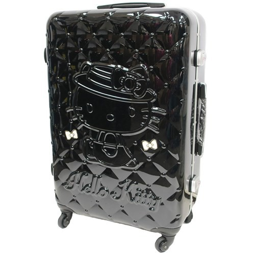 181045fd8 ... To Hello Kitty suitcase 26 inches carry case quilting pattern  サンリオアートウエルド 66 liters overseas