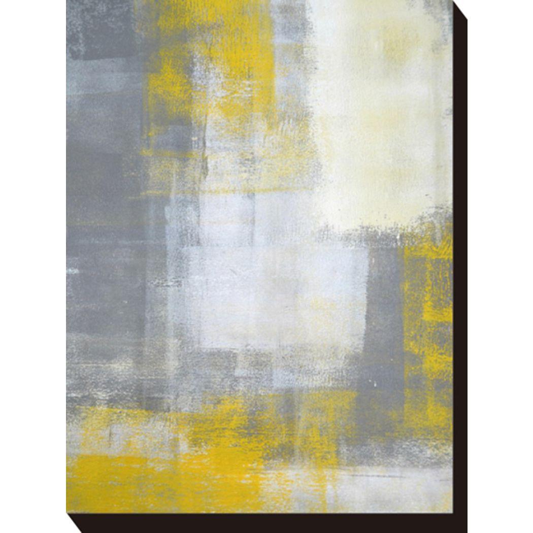 アートパネル モダン アート Art Panel T30 Gallery Grey and Yellow 美工社 フレームレス ギフト 装飾インテリア通販 取寄品 シネマコレクション