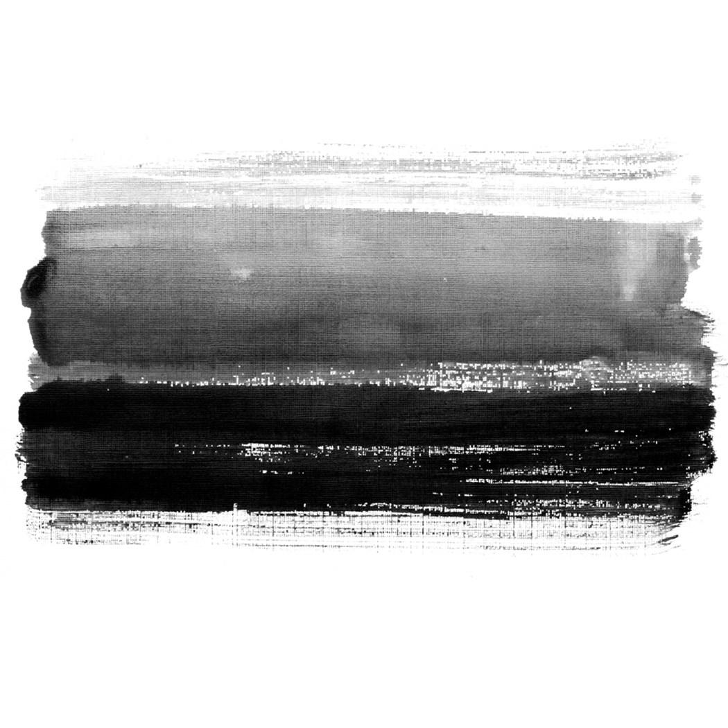 アートパネル モダン アート Art Panel Black striped watercolor hand dwawn background Abstract Aet Painting 美工社 70×70×4cm フレームレス ギフト 装飾インテリア通販 【取寄品】 【送料無料】シネマコレクション【全品ポイント10倍】12/11まで