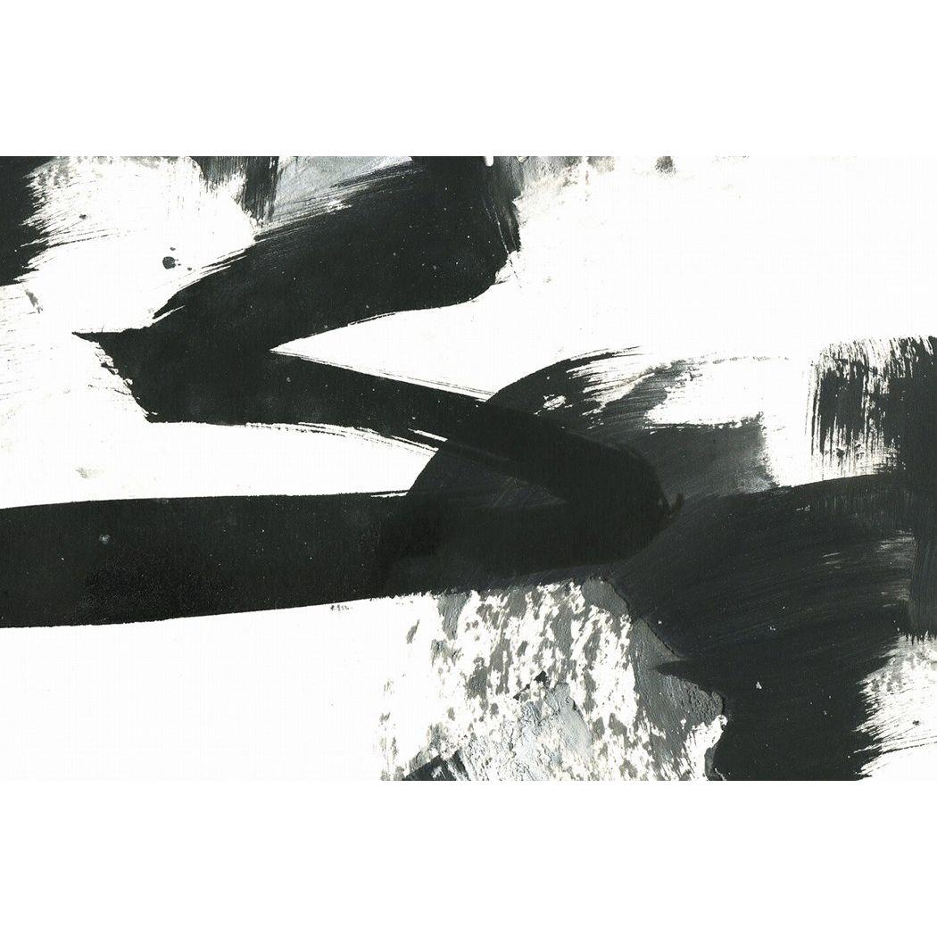 アートパネル モダン アート Art Panel Black and White paint stroke texture 美工社 80×53×4cm フレームレス ギフト 装飾インテリア通販 【取寄品】 【送料無料】シネマコレクション【全品ポイント10倍】【ママ割 エントリー5倍】 11/26まで