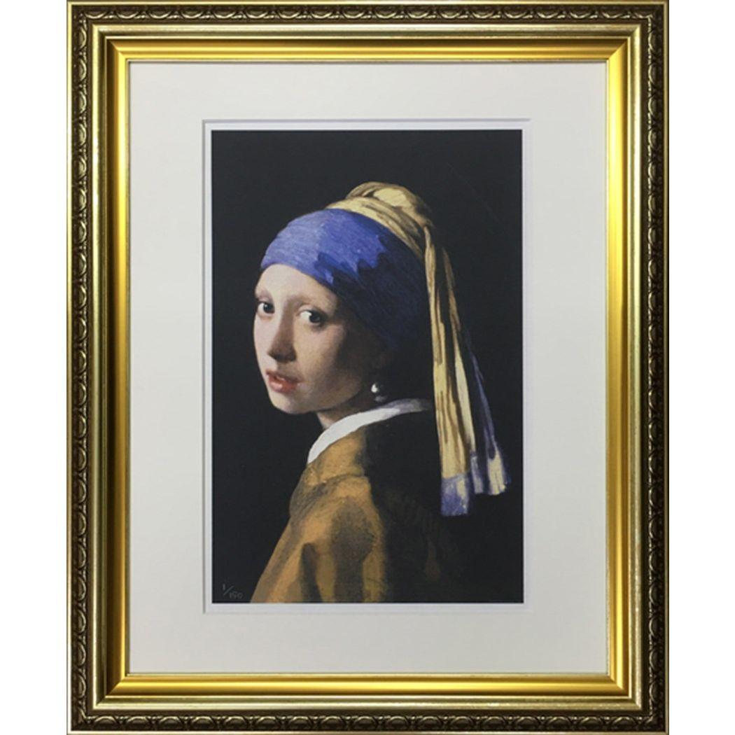 ヨハネス フェルメール 名画 Famous Artist Seriese フェルメール 真珠の耳飾りの少女   美工社 額装品 ギフト 装飾インテリア通販 取寄品 シネマコレクション