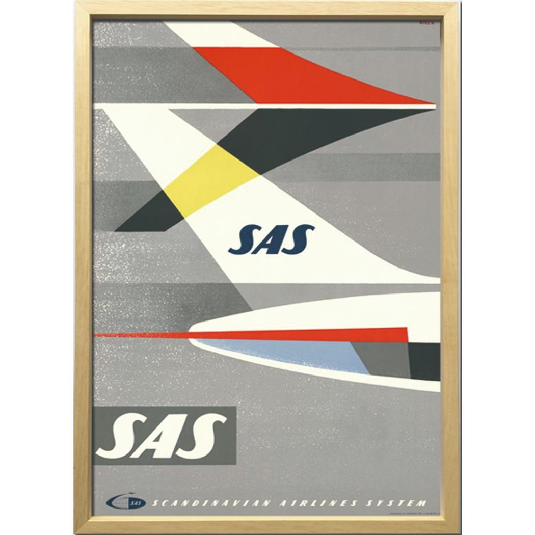 Scandinavian Art アートフレーム SAS 1960年ごろ ZCS-52671 美工社 52.5×72.5×3cm 額付き 北欧インテリア通販 【取寄品】 【送料無料】シネマコレクション【全品ポイント10倍】【ママ割 エントリー5倍】 11/26まで