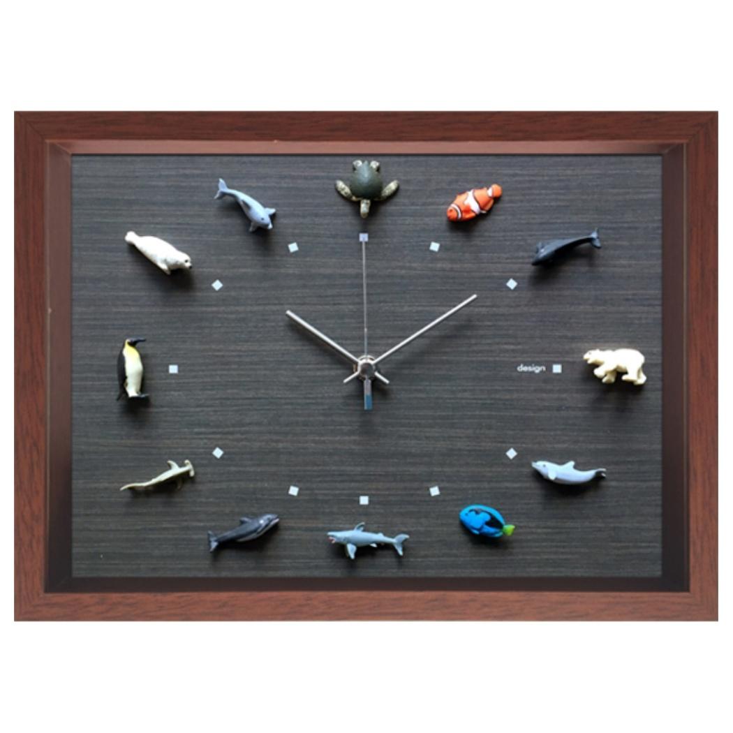デザインクロック 掛け時計 Design Clock Wildlife-3 美工社 CDC-52628 31.4×22.4×4.5cm アニマル ギフトインテリア通販 【取寄品】 【送料無料】シネマコレクション【全品ポイント10倍】【ママ割 登録 エントリー 5倍】12/26まで