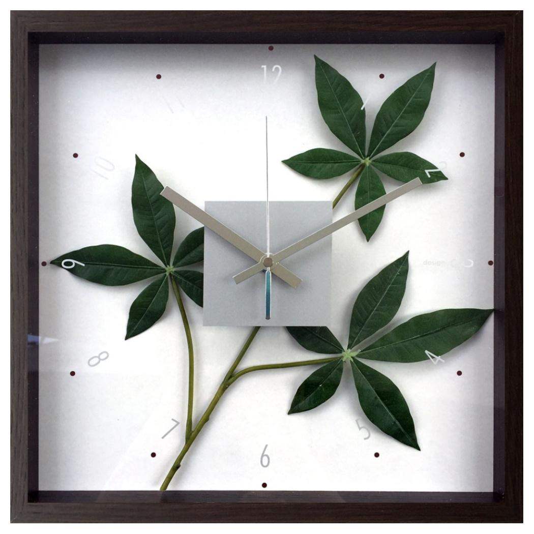 F-style Clock 掛け時計 パキラ グラブラ CFC-52886 美工社 ギフト リーフアートインテリア通販 取寄品 シネマコレクション