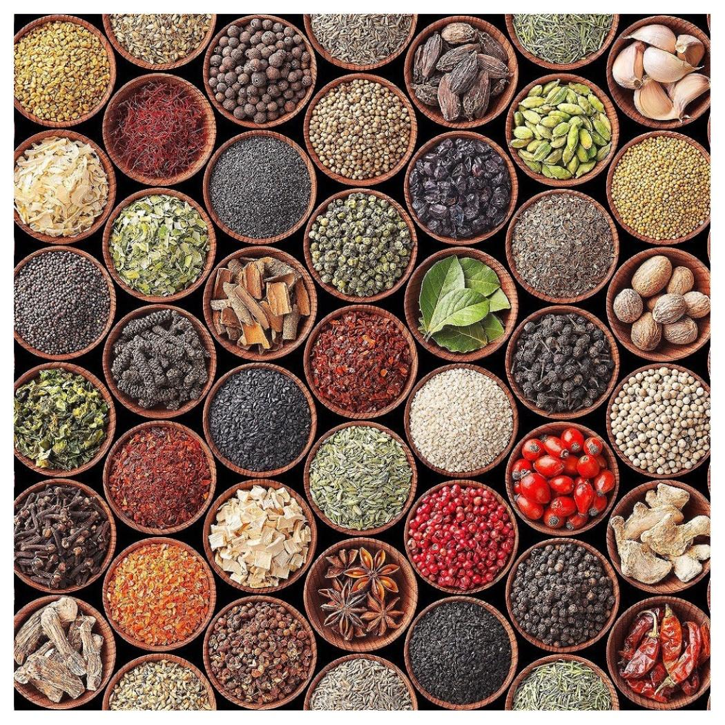 Art Panel インテリア パネル Spice and herbs スパイス&ハーブ 美工社 IAP-52791 キャンバスアートインテリア通販 取寄品 シネマコレクション