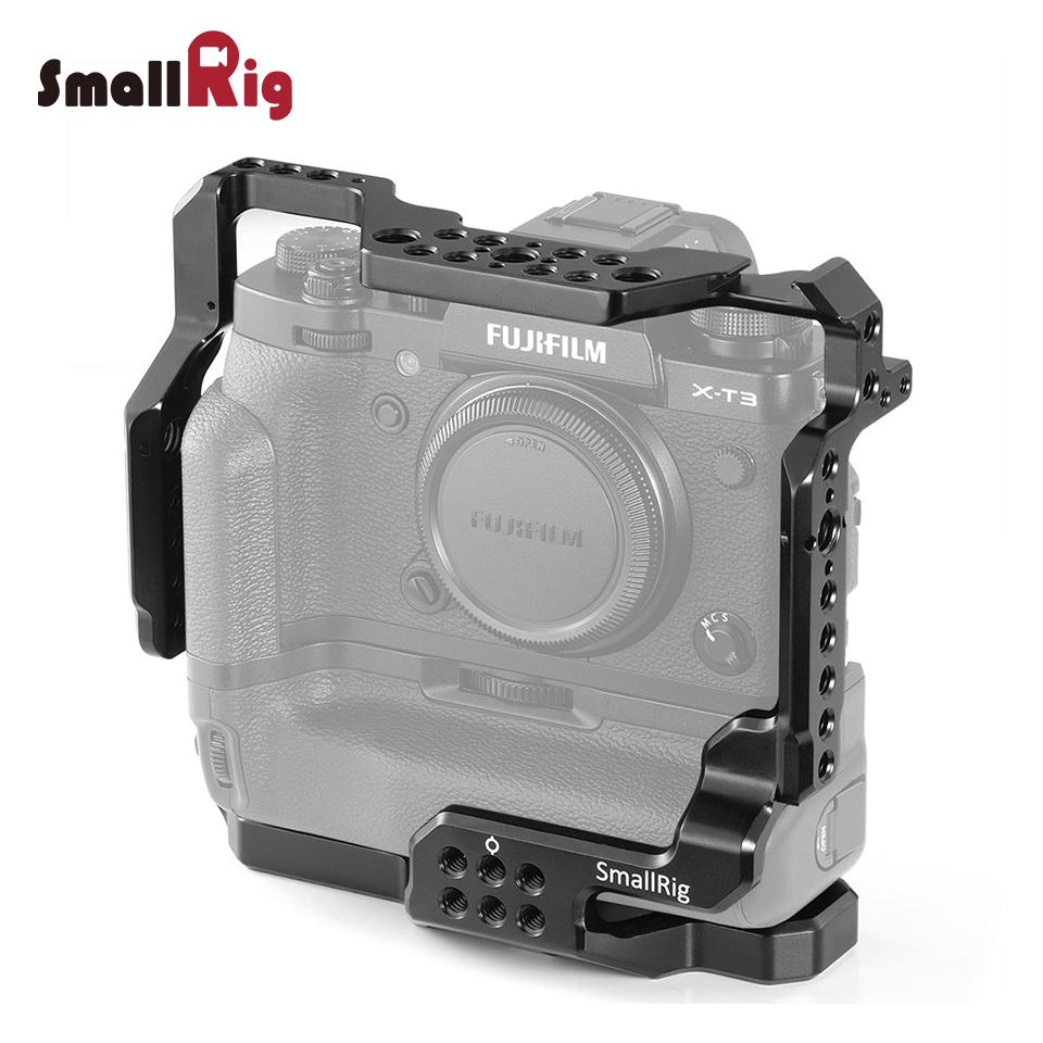 【通常価格より10%OFF】【送料無料】SmallRig Fujifilm X-T3専用ケージ 縦位置 バッテリーグリップ 装備 拡張性 2229【海外直送】