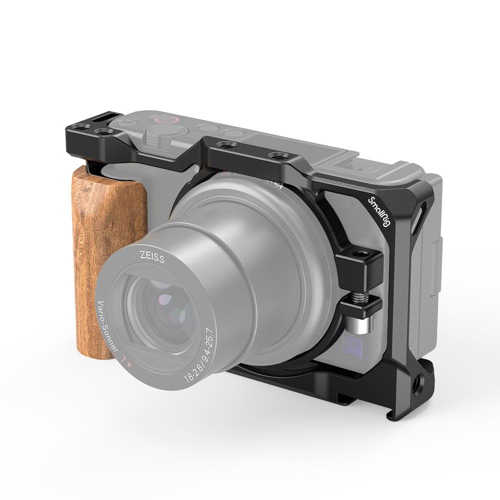 SmallRig Sony ZV-1用ウッドグリップ付きケージ 月間優良ショップ受賞 捧呈 日本国内倉庫発送 送料無料SonyZV-1用ウッドグリップ付きケージ2937 SALE開催中 SmallRig公式