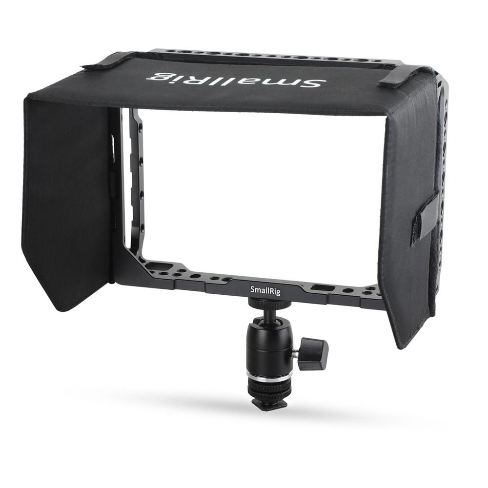 【ポイント5倍バック】【送料無料】SmallRig Blackmagic Video Assist専用サンフード7