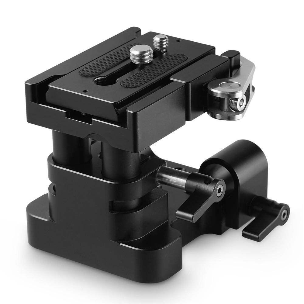 【通常価格より10%OFF】【送料無料】SmallRig 汎用 15mm ロッドレール サポート システム ベースプレート (Arca-swiss規格のQRプレート付き)-2092 【海外直送】