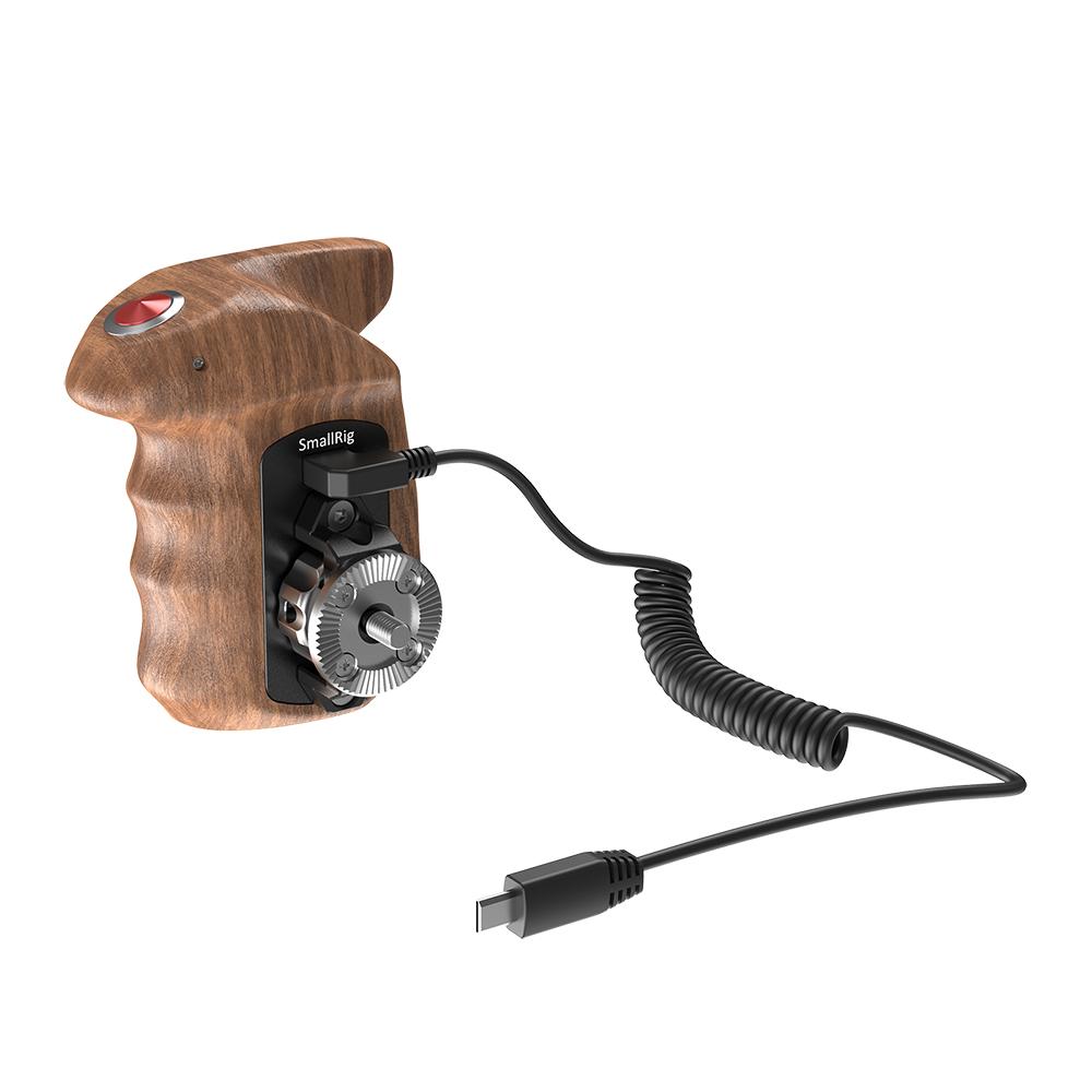 SmallRig Sonyミラーレスカメラ用 ウッドグリップ 月間優良ショップ受賞 SmallRig公式 海外直送 送料無料Sonyミラーレスカメラ用ARRIロゼット互換録画ボタン付きウッドグリップ 格安SALEスタート HSR2511 右手用 現品